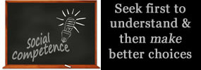 Seek undertanding and then make better choices