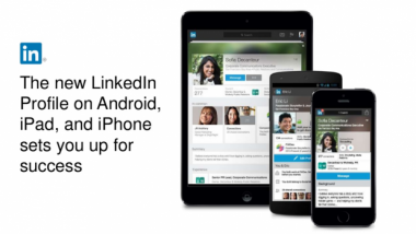 New LinkedIn mobile app