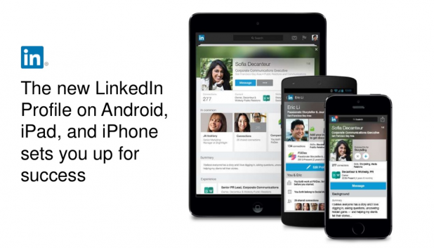 New LinkedIn mobile app