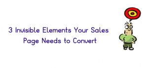 Silent Elements of a Sales Page
