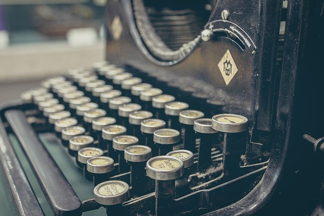 Ode to the typewriter