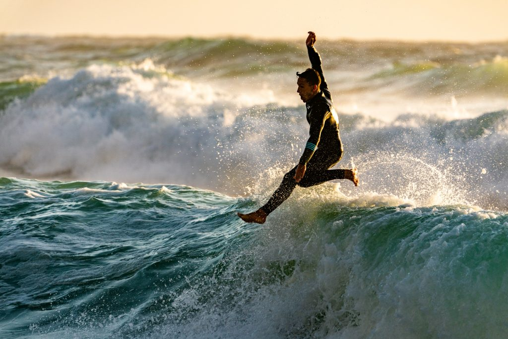 Surfing Wipe-out Opportunity
